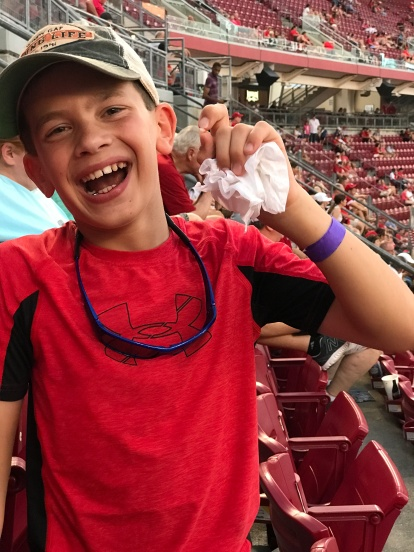 Brady lost a tooth during the game! He is planning to throw it into the Grand Canyon.